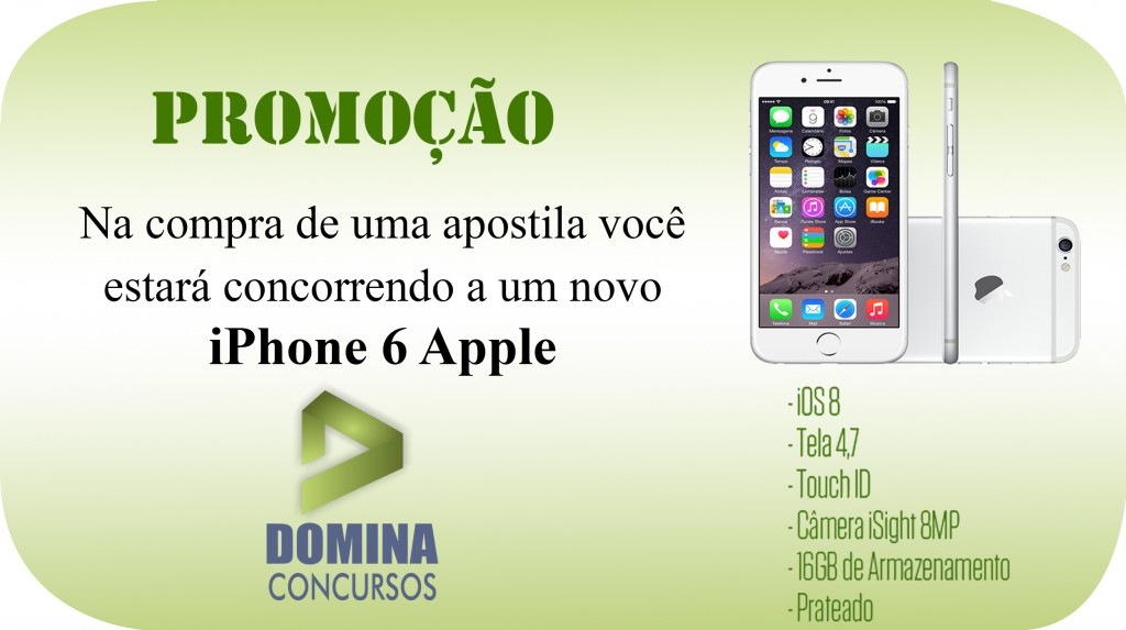 sorteio iphone 6