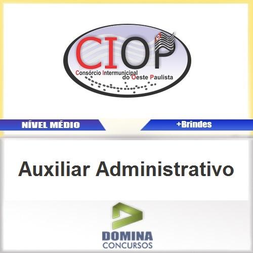 Apostila Concurso Ciop 2016 Auxiliar Administrativo