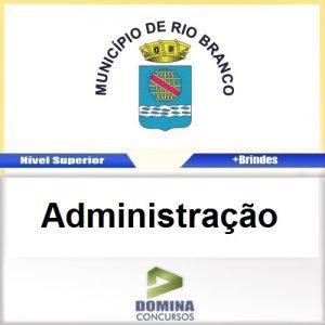 Apostila Câmara de Rio Branco 2016 Administração