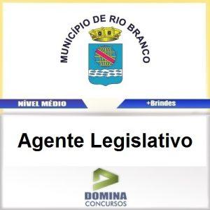 Apostila Câmara de Rio Branco 2016 Agente Legislativo