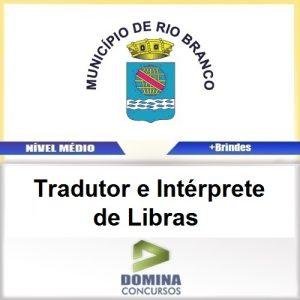 Apostila Câmara de Rio Branco 2016 Tradutor de Libras