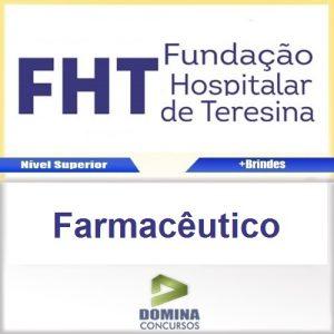Apostila Concurso FHT 2016 Farmacêutico PDF