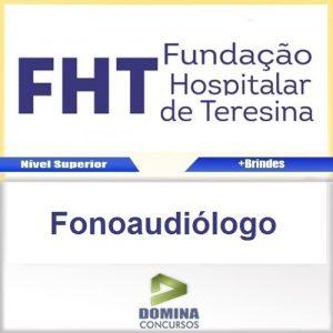 Apostila Concurso FHT 2016 Fonoaudiólogo PDF