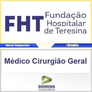 Apostila Concurso FHT 2016 Médico Cirurgião Geral