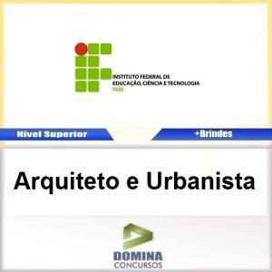 Apostila Concurso IFPA 2016 Arquiteto e Urbanista