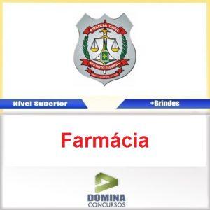 Apostila Concurso PC DF 2016 Perito Farmácia PDF