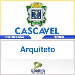 Apostila Concurso Prefeitura de Cascavel 2016 Arquiteto