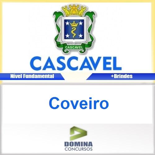 Apostila Concurso Prefeitura de Cascavel 2016 Coveiro