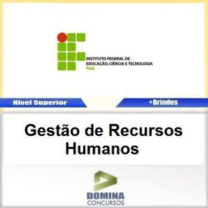 Apostila IFPA 2016 Gestão de Recursos Humanos