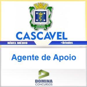 Apostila Prefeitura de Cascavel 2016 Agente de Apoio