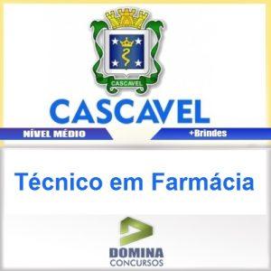 Apostila Prefeitura de Cascavel 2016 Técnico em Farmácia