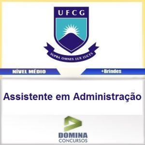 Apostila UFCG PB 2016 Assistente em Administração