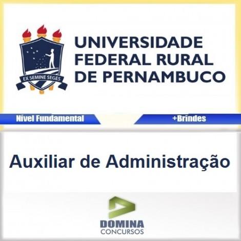 Apostila Concurso UFRPE 2016 Auxiliar de Administração
