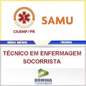 Apostila Ciuenp SAMU 2016 Técnico Enfermagem Socorrista