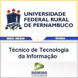 Apostila UFRPE 2016 Técnico de Tecnologia da Informação