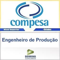 Apostila Concurso COMPESA 2016 Engenheiro de Produção
