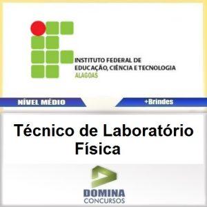 Apostila IFAL 2016 Técnico de Laboratório Física PDF