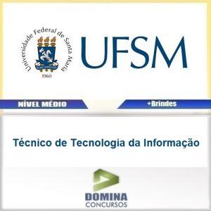Apostila UFSM 2016 Técnico de Tecnologia da Informação