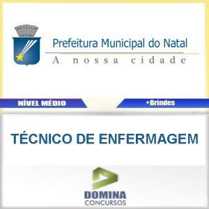 Apostila Prefeitura Natal RN 2016 Técnico de Enfermagem