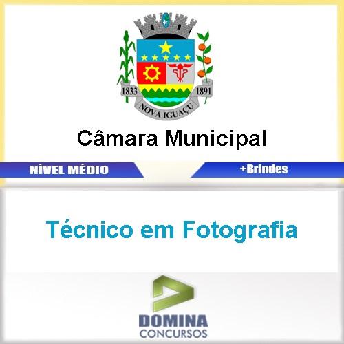 Apostila Câmara Nova Iguaçu RJ Técnico em Fotografia