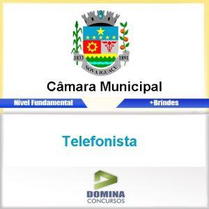 Apostila Concurso Câmara Nova Iguaçu RJ 2016 Telefonista