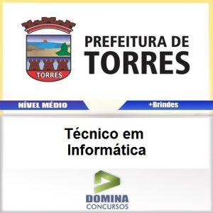 Apostila Prefeitura de Torres Técnico em Informática