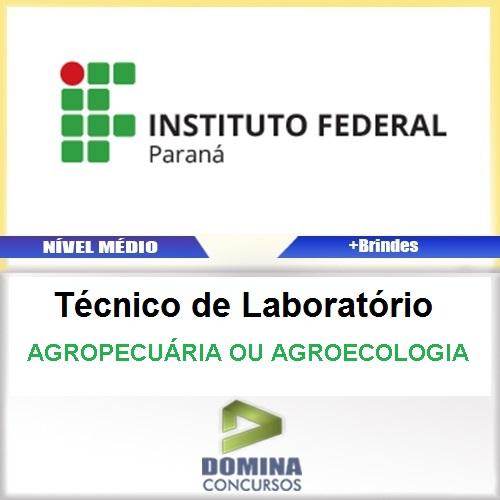 Apostila IFPR 2016 Técnico Agropecuária Agroecologia PDF