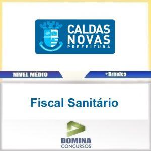 Apostila Prefeitura Caldas Novas 2016 Fiscal Sanitário