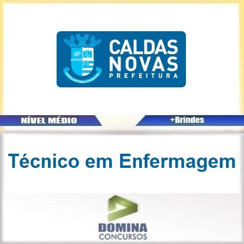 Apostila Prefeitura Caldas Novas Técnico em Enfermagem