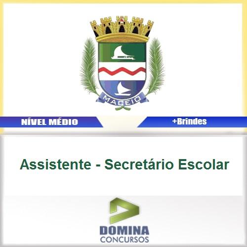 Apostila Município de Maceió Assistente Secretário Escolar