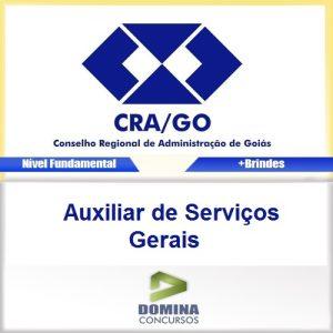 Apostila CRA-GO Auxiliar de Serviços Gerais PDF