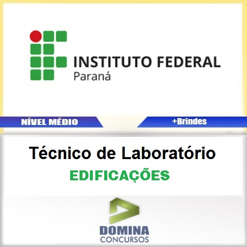 Apostila IFPR 2016 Técnico de Laboratório Edificações PDF