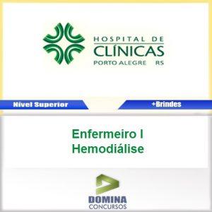 Apostila HCPA 2016 Enfermeiro I Hemodiálise PDF