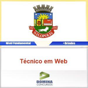 Apostila Concurso 2016 Nilópolis-RJ Técnico em Web PDF