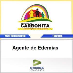 Apostila Concurso Carbonita MG Agente de Edemias PDF