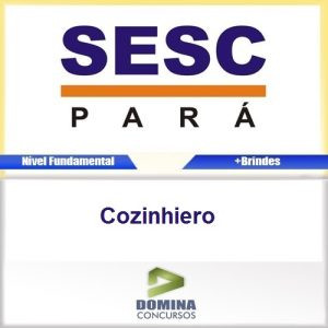 Apostila SESC-DR PA 2016 Cozinheiro PDF