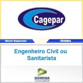 Apostila CAGEPAR PR Engenheiro Civil ou Sanitarista