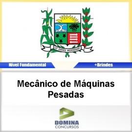 Apostila Araxá MG Mecânico de Máquinas Pesadas PDF