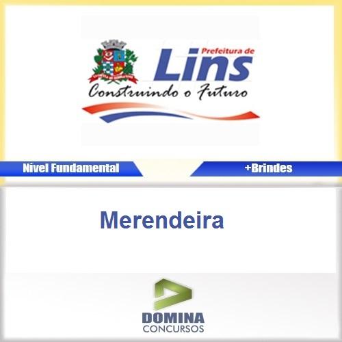 Apostila Prefeitura de Lins 2016 Merendeira PDF