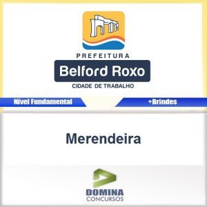 Apostila Concurso Belford Roxo RJ 2016 Merendeira PDF