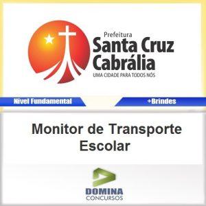 Apostila Santa Cruz Cabrália Monitor Transporte Escolar