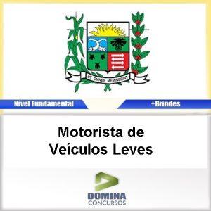 Apostila Araxá MG 2016 Motorista de Veículos Leves PDF