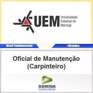 Apostila UEM PR Oficial de Manutenção Carpinteiro PDF