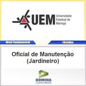 Apostila UEM PR Oficial de Manutenção Jardineiro PDF