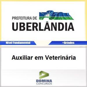 Apostila Uberlândia MG 2016 Auxiliar em Veterinária PDF