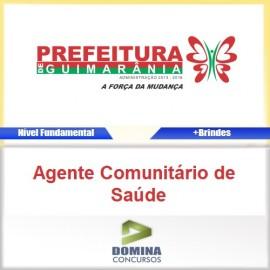 Apostila Guimarânia MG Agente Comunitário de Saúde
