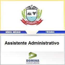 Apostila Câmara Sorriso MT Assistente Administrativo