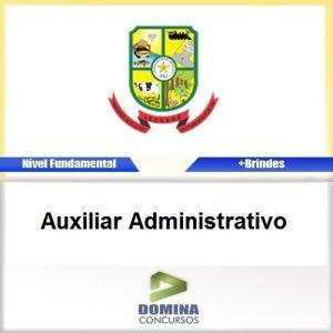 Apostila Jacundá PA 2016 Auxiliar Administrativo PDF