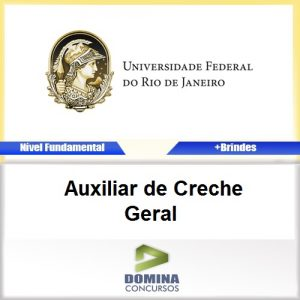Apostila Concurso UFRJ 2016 Auxiliar de Creche PDF