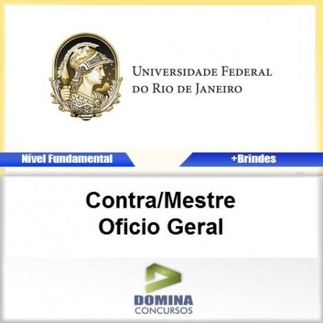 Apostila Concurso UFRJ Contra Mestre Oficio Geral PDF